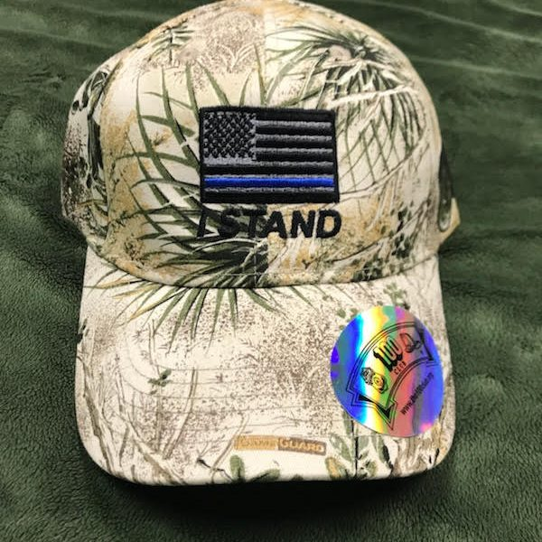 Camo I Stand Hat